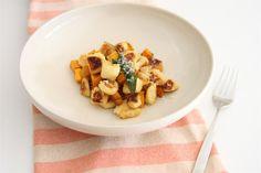 Crispy Pan-fried Gnocchi with Roast Pumpkin and Sage