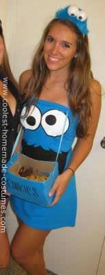 Homemade DIY Cookie Monster Halloween Costume: This Homemade DIY Cookie Monster Halloween Costume outfit is something simple and cute that you can create in little time! I first got the idea to create