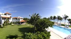 Overview of #HotelEsencia in the #RivieraMaya.