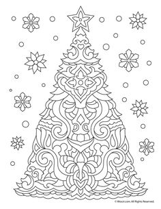 270 Best Christmas Easter Coloring Pages For Adults Images In 2019