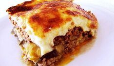 Traditional Greek Moussaka - Anne Zouroudi's authentic Greek mother-in-law's recipe, same as the one featured in Rick Stein's series Venice to Istanbul Rick Stein Moussaka, Mousaka Recipe, Greek Dinners, Greek Cooking, Cooking Recipes, Healthy Recipes, Pork Recipes, Mediterranean Recipes, Dining