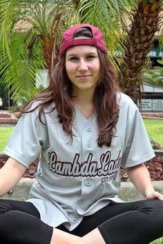 LTA Lambda Lady Baseball Jersey