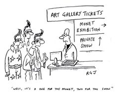 One for the Monet...