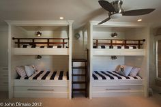 Beach Dwellings' Bedrooms - traditional - kids - philadelphia - Beach Dwellings