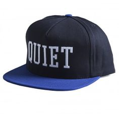 The Quiet Life - College Dart Snap Back Black/Royal #snapback #thequietlife #tql