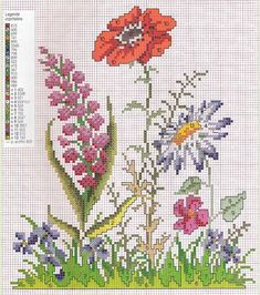 The thread - needle: Cross Stitch Cross Stitch Pillow, Cross Stitch Love, Cross Stitch Flowers, Cross Stitch Designs, Cross Stitch Patterns, Cross Stitching, Cross Stitch Embroidery, Hand Embroidery, Christmas Embroidery Patterns