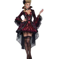 2015 New Halloween Costumes For Women Vampires Vixen Costume LC8922 Deguisement Adulte Sexy Fantasias Femininas Halloween Menina