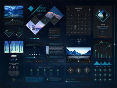 Check out Neon Square UI Kit by tintins on Creative Market Web Design, Game Ui Design, Graphic Design, Design Layouts, Ui Kit, Interface Design, User Interface, Packaging, Ui Inspiration