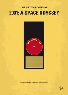 "Saatchi Online Artist: Chungkong Art; Vector 2013 New Media ""No003 My 2001 A space odyssey minimal movie poster"""