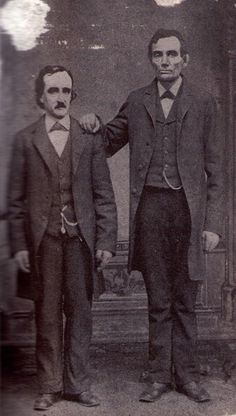 Edgar Allen Poe and Abraham Lincoln