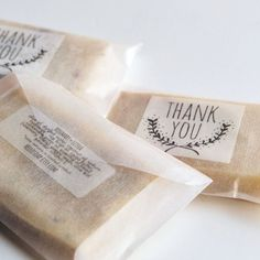 15 Thank You Handcrafted Natural Soaps Party Favor от hellosoap