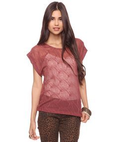 Not a fan of the pants but the top is cute! Pointelle Pattern Top (M), £9.99