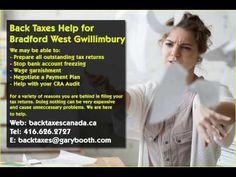 Bradford West Gwillimbury   Back Taxes Canada.ca   416-626-2727   taxes@garybooth.com  