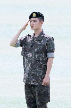 190806 Do Kyungsoo Military Service D O Exo, Exo Do, Exo Chen, Baekhyun Chanyeol, Chansoo, Chanbaek, Luhan And Kris, Exo Lockscreen, Do Kyung Soo