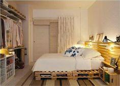 pallet bed frame ideas for bedroom