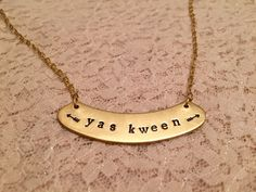 "This ""Yas Kween"" Necklace 