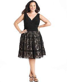 SL Fashions Plus Size Dress