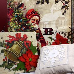 Before you pack away your decorations or load up on after Christmas clearance specials, be sure to check out this tip on our blog for ways to give those decorations a simple make-over: http://sizzixblog.blogspot.com/2012/12/christmas-clearance-make-overs.html