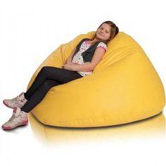 Relax XL babzsákfotel - citromsárga Bean Bag Chair, Relax, Furniture, Big, Home Decor, Minimalist, Decoration Home, Room Decor, Beanbag Chair