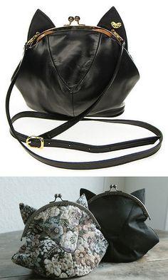 DIY Knockoff MILK Cat Bag Tutorial and Template-http://makemylemonade.com/diy-du-merci-les-chatons/