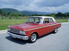 1963 Ford Fairlane 500..looks like my dads...
