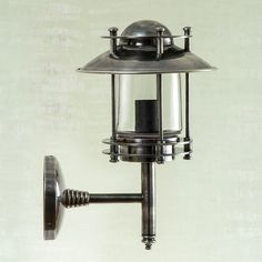 Turner Wall Lamp in Antique Silver // 245$