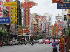 China Town in Bangkok, Thailand