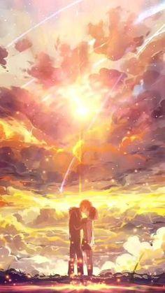 Film Anime, Sky Anime, Anime Songs, Wallpaper Animes, Anime Wallpaper Phone, Anime Scenery Wallpaper, Anime Backgrounds Wallpapers, Live Wallpapers, Animes Wallpapers