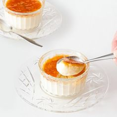 Classic Crème Brûlé - The perfect dessert, a creamy custard topped with brittle caramel.