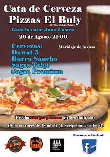 Pa' Las Birras: Cata de cervezas en Pizzas El Buly (19 de agosto 2...
