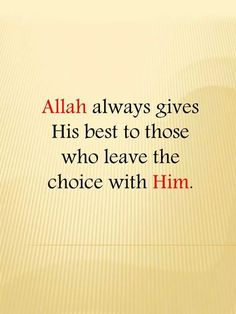 When you have taken a decision put your trust in Allah ♡