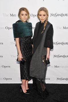 Head-to-Toe Perfection // Stylish Siblings: Mary-Kate and Ashley Olsen   Stylebistro.com