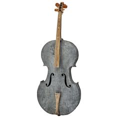 Madly in love with this amazing string instrument, the Folk Art Cello, at Buckingham ID.  Made from a WWII plane- oh the music it could play!
