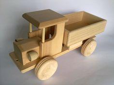 Handcrafted Wooden Large Truck  ecofriendly by PolishFolkArtShop, £16.00