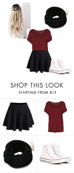 """""""Untitled #11"""" by morganb-19 on Polyvore featuring WithChic and Converse"""