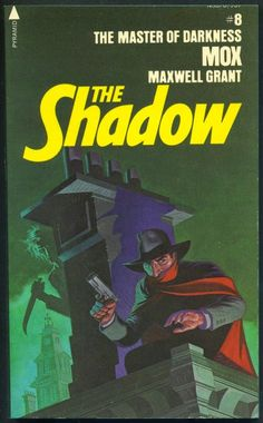 The Shadow 8 - Mox - I think I'm going to have to collect some of these Steranko Shadow covers. Comic Book Artists, Comic Books Art, Radios, Jim Steranko, The Lone Ranger, Dark Men, Pulp Magazine, Shadow Art, Book Writer