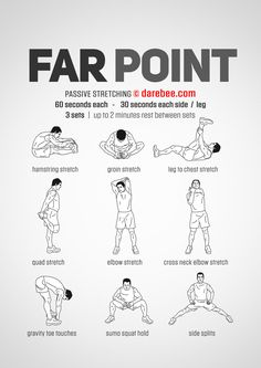 Far Point Workout Yoga Fitness - Gym Workout Tips, Boxing Workout, At Home Workouts, Post Workout, Passive Stretching, Stretching Exercises, Easy Stretches, Yoga Fitness, Workout Fitness