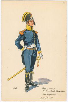 Velite à Cheval de la Garde Royale Napolitaine... 1807