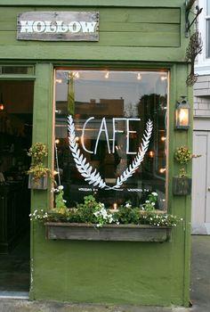 Park Bonnie out the front? Cafe Bonnie