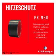 RK 980 - Teflonbeschichtiges Klebeband für Elektroisolation #Krueckemeyer #Klebeband #Kleben #Adhesive #Tape #Oberflächenschutz
