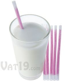 With Magic Milk Straws, even the most reluctant kids (and adults, too!) will be begging to drink a glass of milk everyday. Each Magic Milk Straw is crammed with all-natural flavor beads which transform your milk into a delicious treat. As you sip, the beads dissolve and infuse tasty strawberry, chocolate, vanilla milkshake, or cookies and cream flavor into your milk. Magic Milk Straws are low in sugar, lactose-free, gluten-free, preservative-free, and have zero fat and cholesterol.