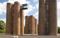 bio towers in lauchhammer, germany - designboom   architecture ...