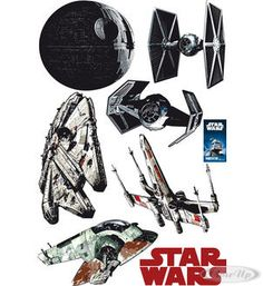 Star Wars Wall Tattoo    Available on http://closeup.de