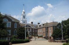 Delaware State Capitol in Dover, DE