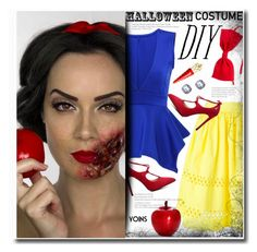 """""""DIY Halloween Costume(yoins 9)"""" by meyli-meyli ❤ liked on Polyvore featuring Alice + Olivia, Christian Louboutin, Disney, halloweencostume, DIYHalloween, yoins, yoinscollection and loveyoins"""