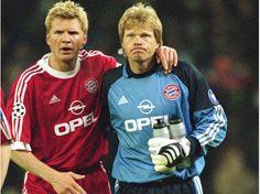 Stefan Effenberg with Oliver Rolf Kahn