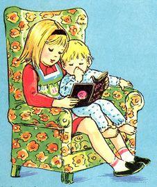 Voorlezen , het blijft leuk