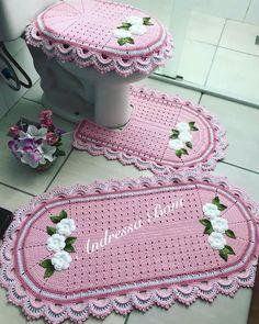Crochet Doily Rug, Crochet Round, Crochet Geek, Crochet Home, Double Crochet, Easy Crochet, Crochet Baby, Knit Crochet, Crochet Flowers