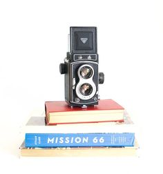 Man gift - Holiday gift idea for the home for Christmas or Hanukkah - Seagull Twin Lens Reflex Medium Format Film Camera 120 TLR