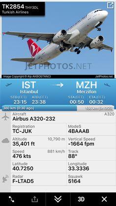 Flight TK2854 from Istanbul to Merzifon http://fr24.com/THY3DL/9096094